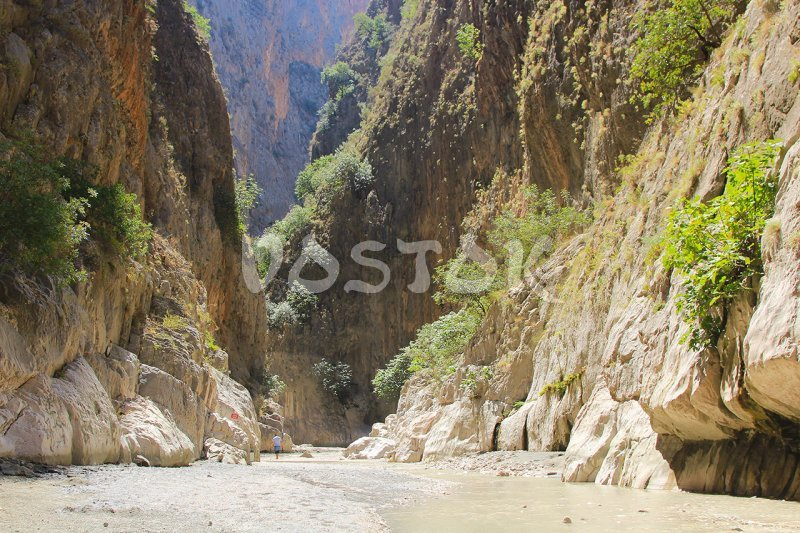 Saklikent gorge is really gorgeous