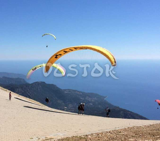 Beginning of most exciting thing in your life - tandem paragliding in Oludeniz with professional pilot
