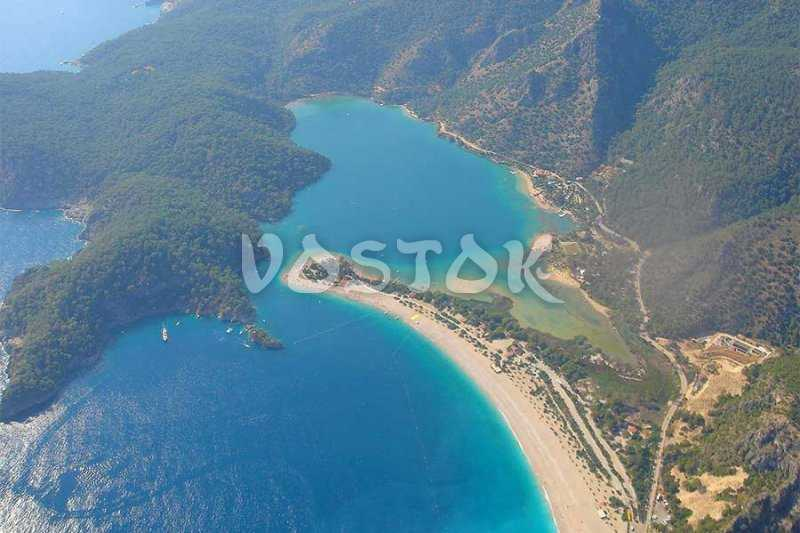 Magnificent view to Oludeniz and Blue Lagoon