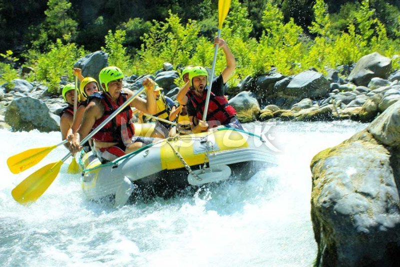 Real adventure on Dalaman River