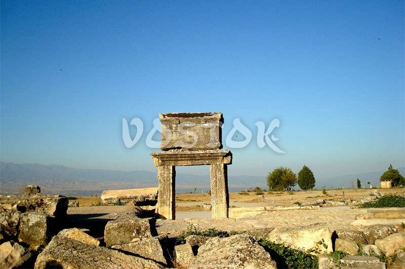 Well preserved remains of Hierapolis