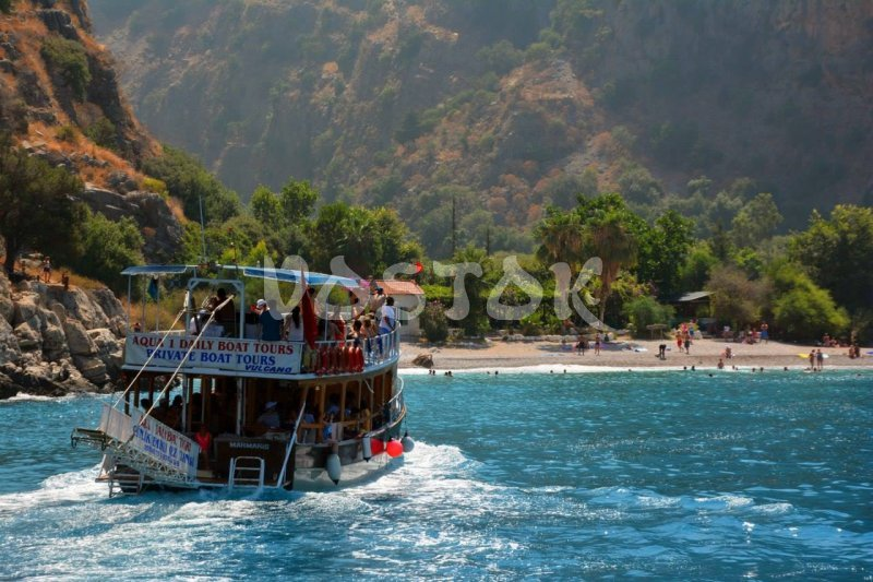 Butterfly Valley is a highlight of Oludeniz boat trips