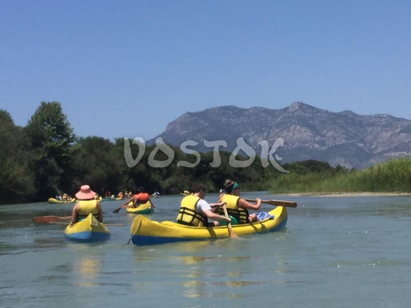 Xanthos Canoeing pictures from 2016