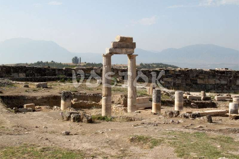 Hierapolis Ancient City  Hierapolis plan, ruins and museum