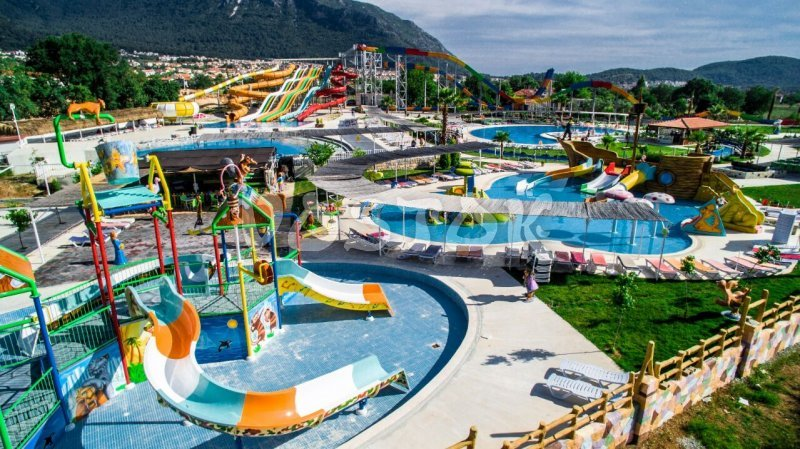 Oludeniz Water World Aquapark Water Park In Fethiye
