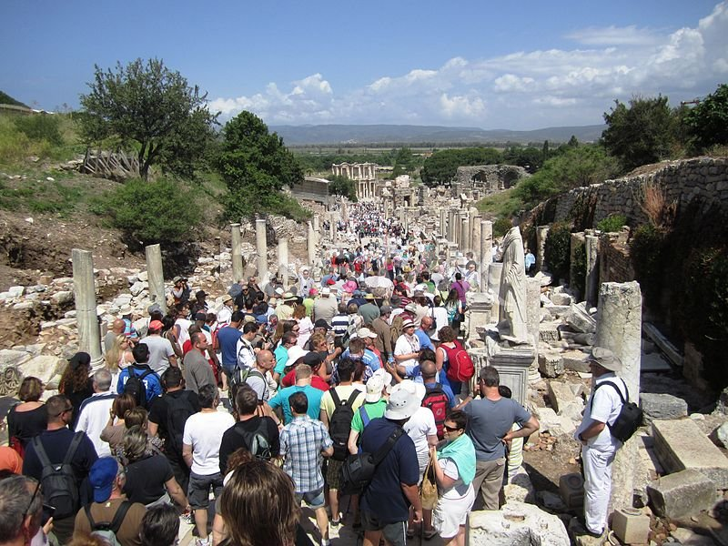 Excursion to Ephesus and Pamukkale is one of the most popular from Fethiye Hisaronu Oludeniz