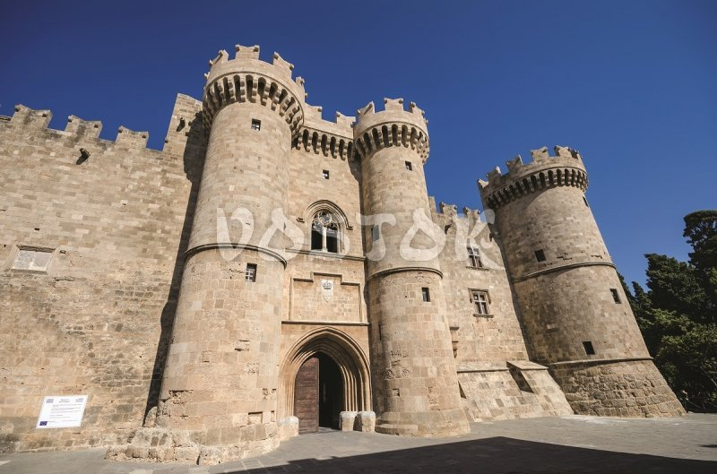 Grand Master's Palace in Rhodes Greece