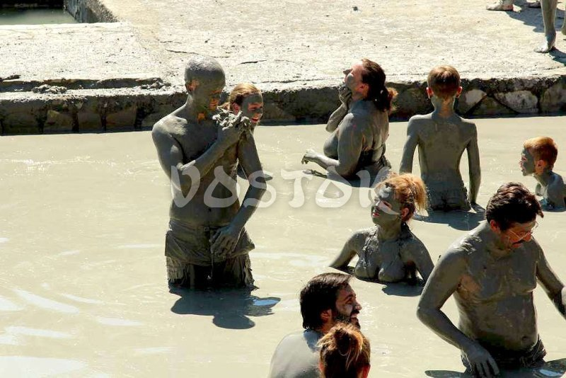 It is a must to get dirty in mud bath in Dalyan