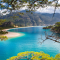 Amazingly incredible Oludeniz and Blue Lagoon is a pearl of Turkish Turquoise  Coast