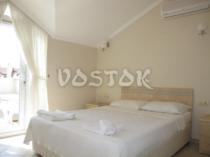 Master bedroom with double bed - Sunset Aqua Apartments in Calis Turkey