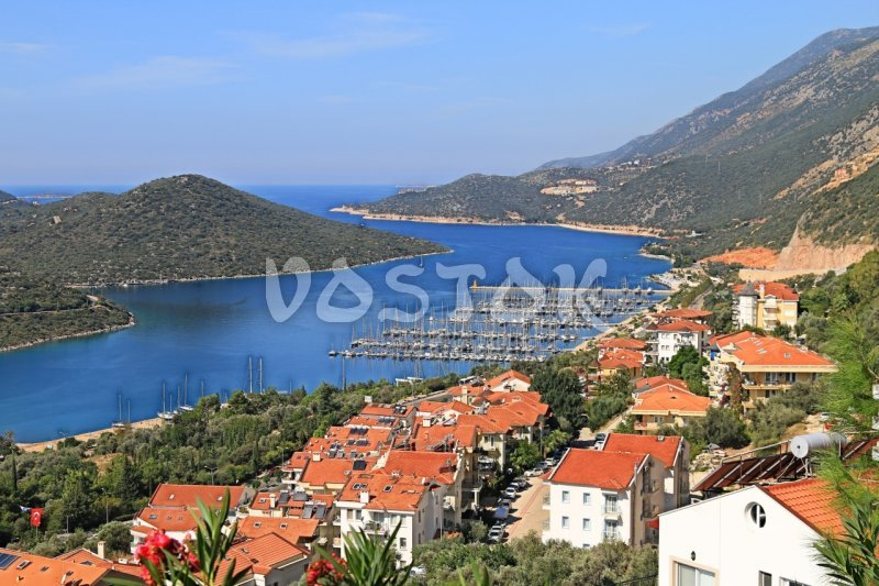 The resort town of Kas