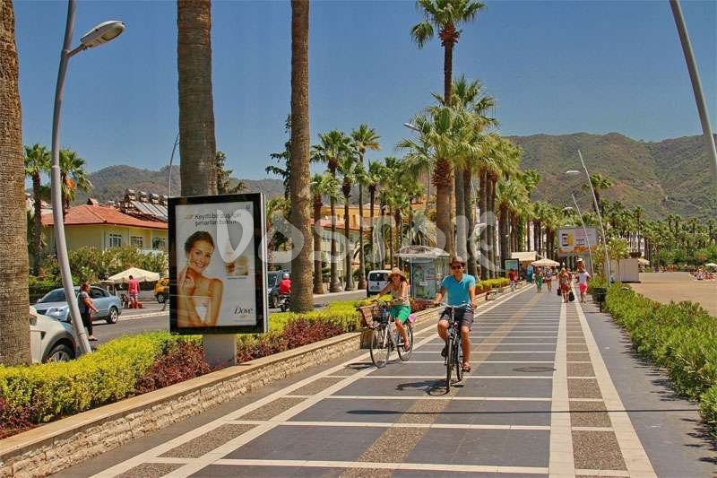 Longest quay among the Turkish resorts is in Marmaris