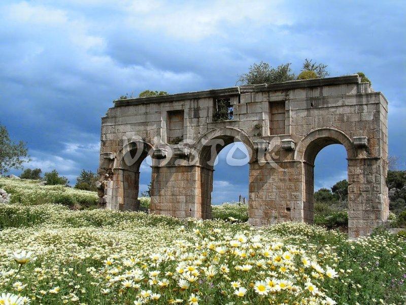 Patara Turkey  Patara beach and ruins of ancient city