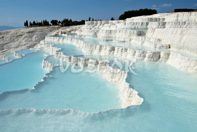 Private tour to Pamukkale from Fethiye Oludeniz Hisaronu