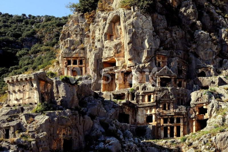 Private tour to Myra from Fethiye Oludeniz Hisaronu