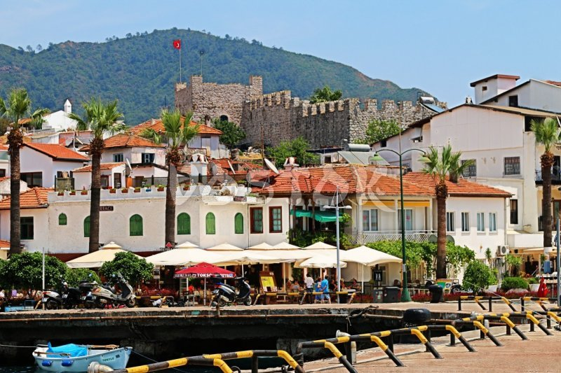 Knight castle in Marmaris