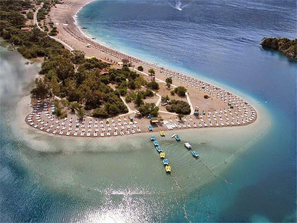 Best Beaches In Fethiye Turkey Kidrak Kaputas Oludeniz Gemiler Etc