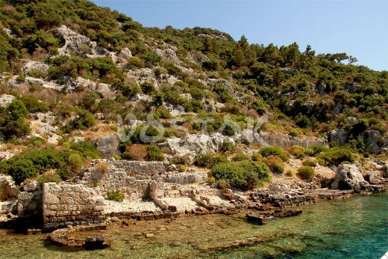 Sunken Kekova city