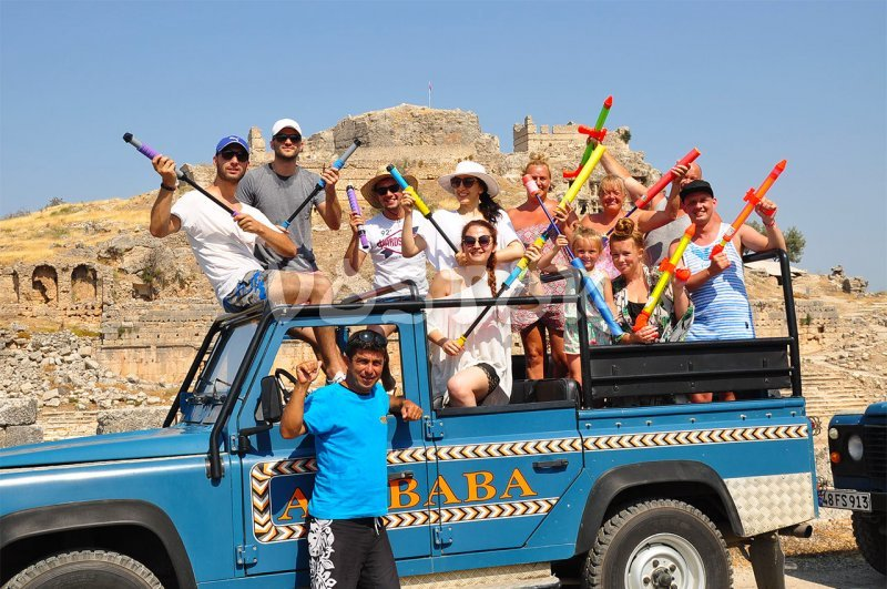 We are in ancient city of Tlos - Jeep Safari to Patara