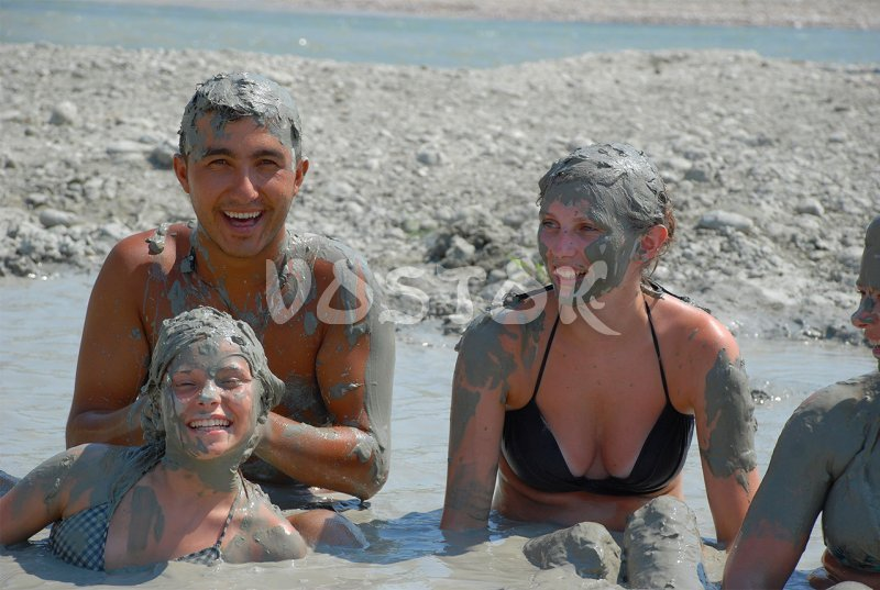 Mud bath as a part pf of Jeep Safari to Patara beach and Saklikent gorge