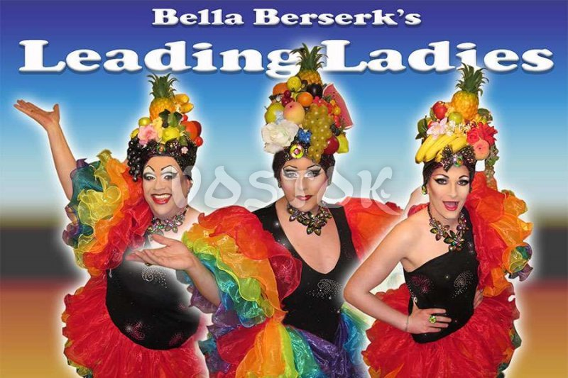 Bella Berserk and her ladies of the Talk of the Town Hisaronu show