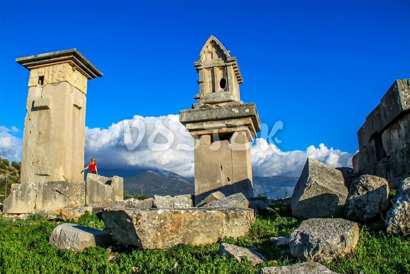The ancient city of Xanthos - Patara Jeep Safari