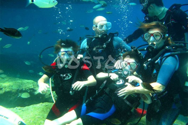 Wow, the underwater world is amazing - Oludeniz Scuba Diving