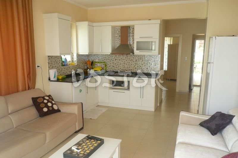 Open plan kitchen - Blue Green Apartments in Calis Turkey