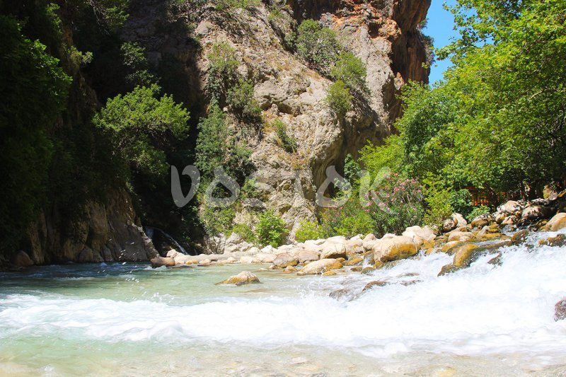 Clear, fast and really cold water - Saklikent Tlos Yakapark Tour