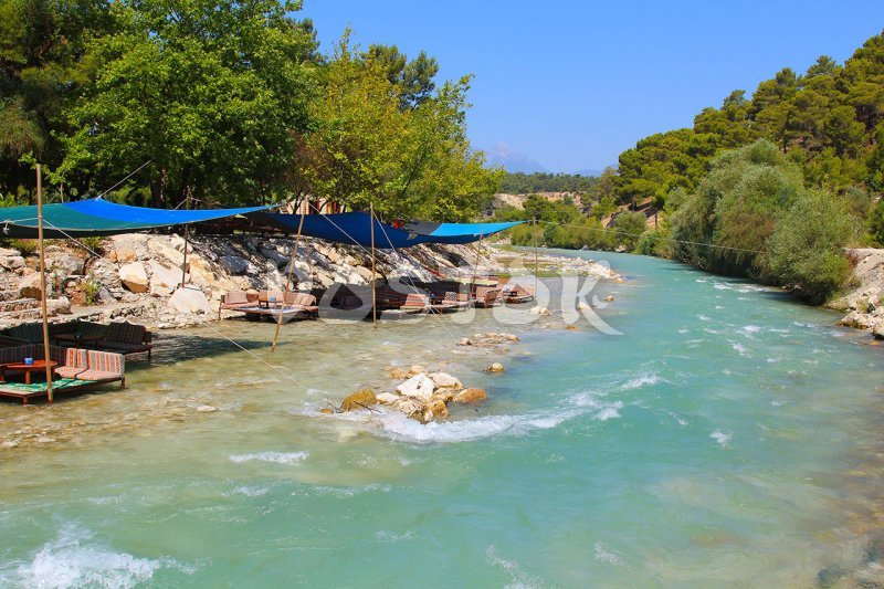 It is good place for ringo rafting - Saklikent Tlos Yakapark Tour