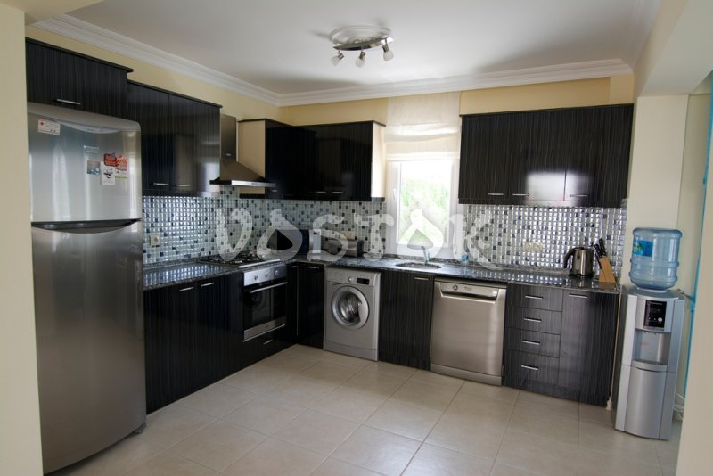 Fully equipped kitchen - Mountain View Villa in Ovacik