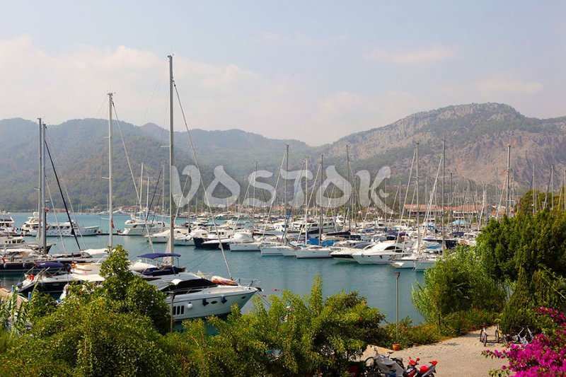Gocek marina is welcoming you - Gocek Sunday Market Boat Trip