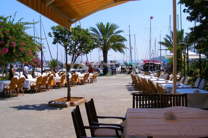 Restaurant in Gocek marina