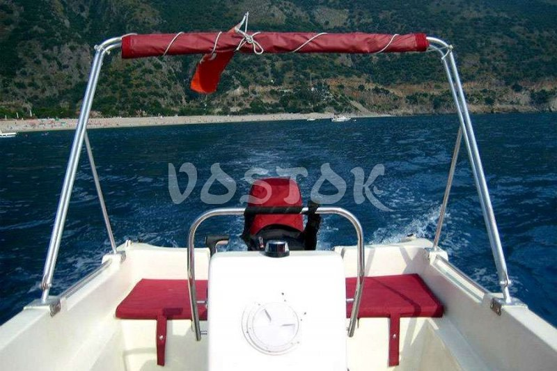 Captain's seat - Oludeniz Speed Boat Hire