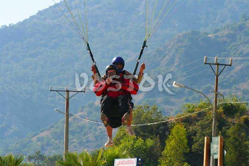 Oludeniz Paragliding - Fethiye Paragliding from Babadag mountain Turkey