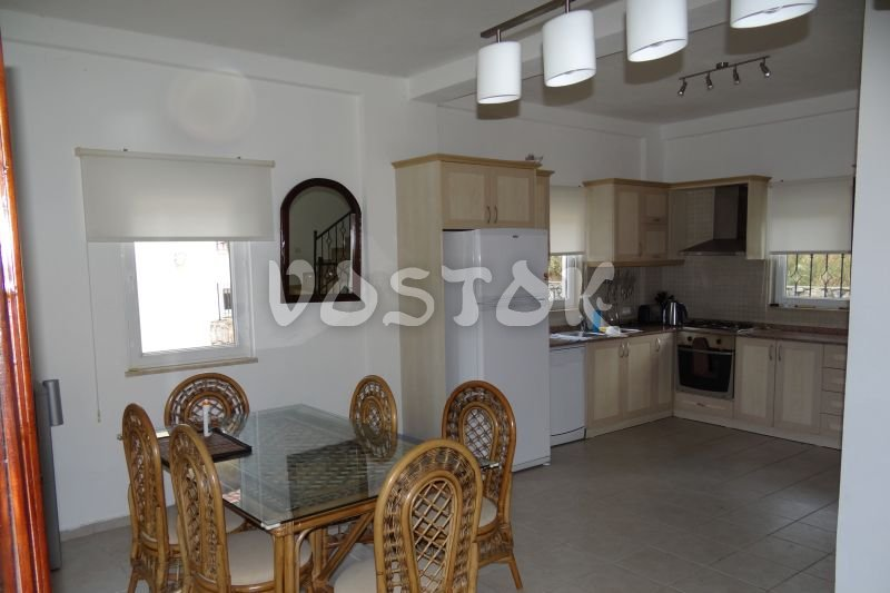 Open plan kitchen / dining room - Santi Villa in Uzumlu
