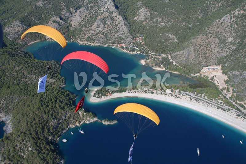 Tandem Oludeniz paragliding from Babadag mountain