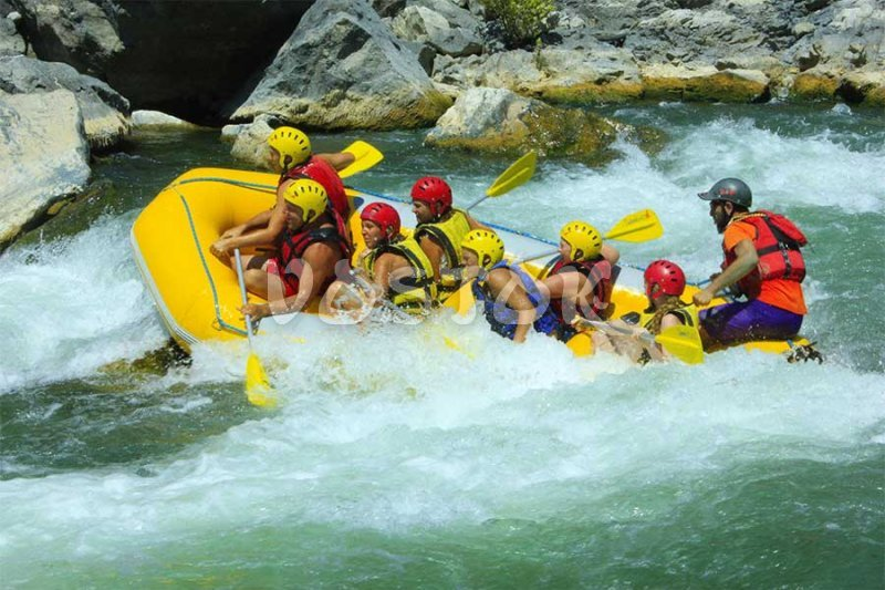 Rafting on Dalaman river is very exciting adventure - Fethiye Rafting