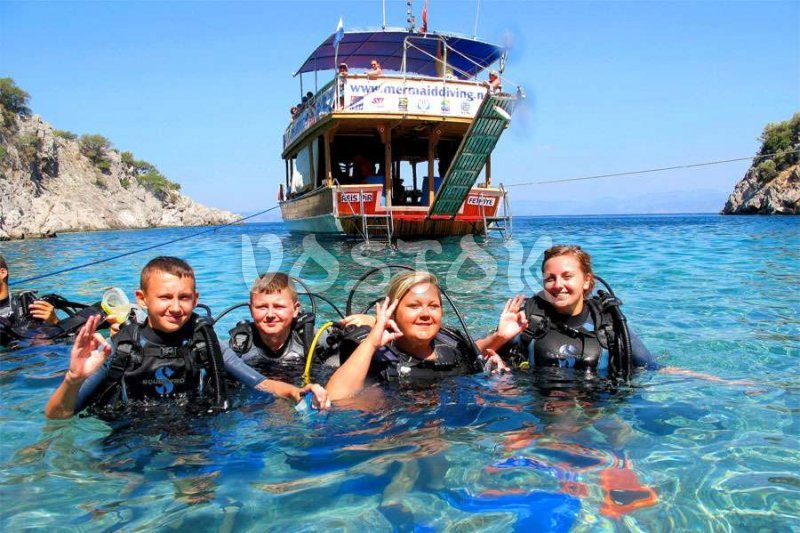 We are ready to dive - Fethiye Scuba Diving