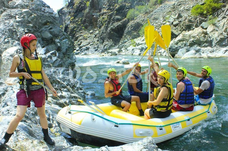 One for all - all for one - Dalaman Rafting