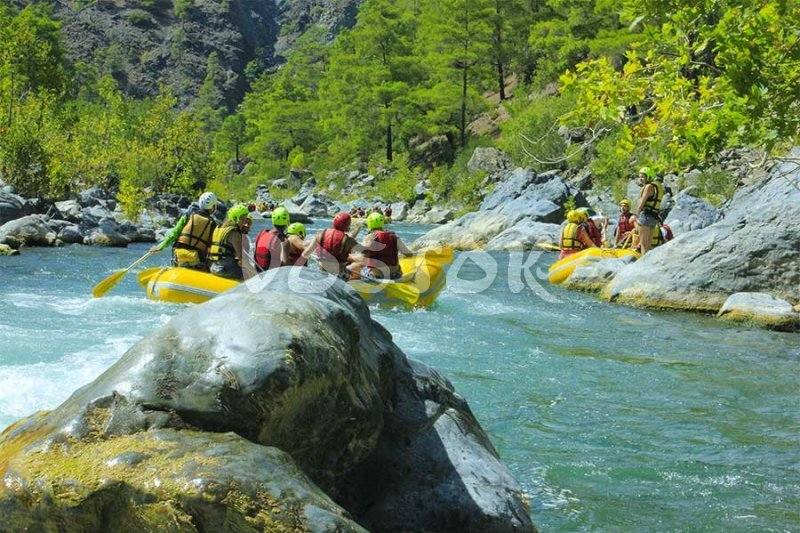 White water rafting on Dalaman river - Rafting Dalaman