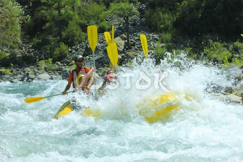 Big splash on Dalaman River - Fating Fethiye