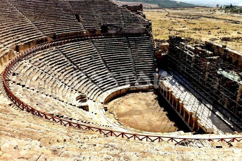 The Hierapolis theater