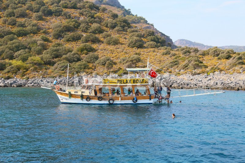 Small boat trip from Oludeniz