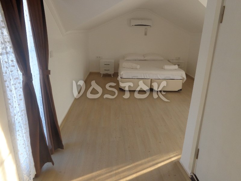 Attic floor bedroom - Pine Villa in Ovacik Hisaronu