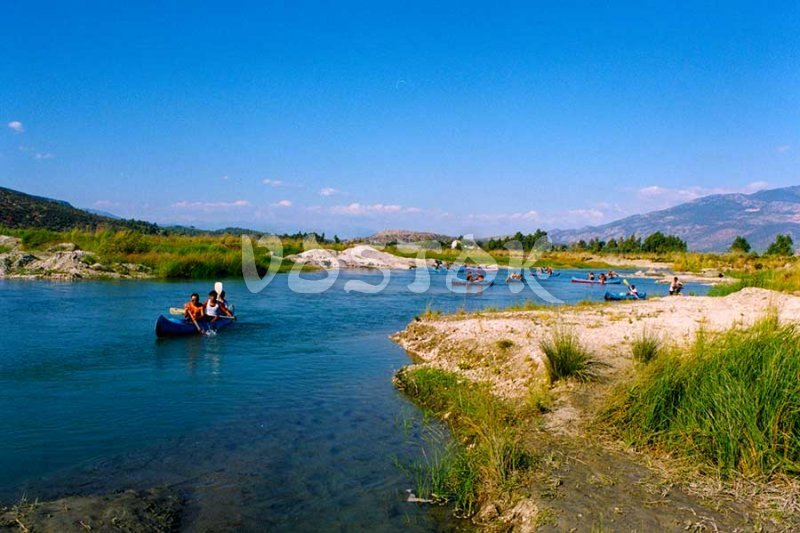 Esen Cayi River -  Xanthos River Canoeing