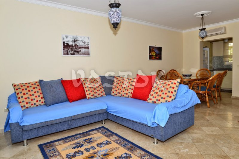 Large sofa in living room - Seaside Villa in Calis Turkey