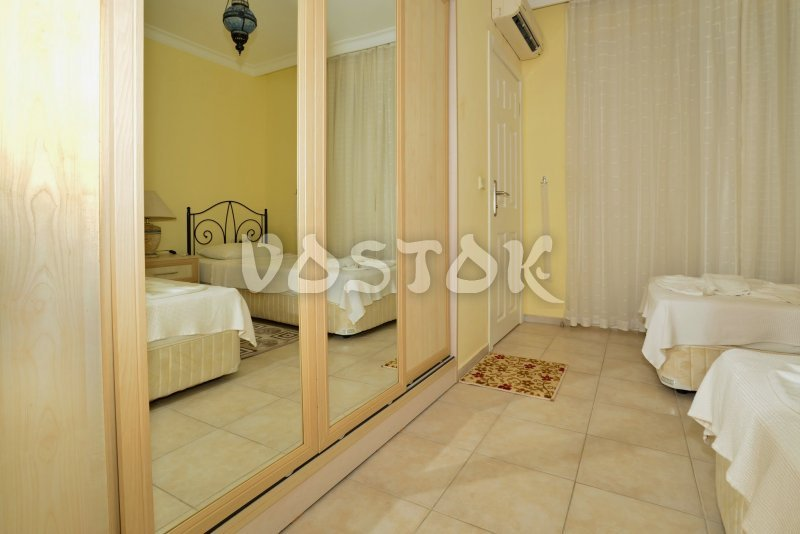Large wardrobe in bedroom - Seaside Villa in Calis Turkey