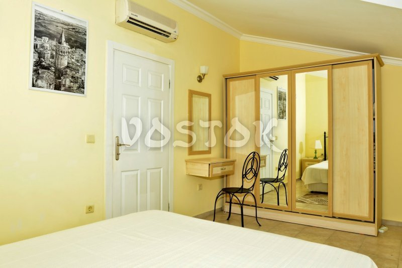 Attic floor bedroom - Seaside Villa in Calis Turkey