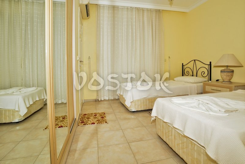 Twin beds - Seaside Villa in Calis Turkey